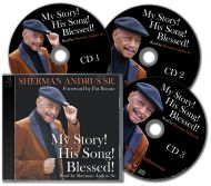 """Audiobook - """"My Story! His Song! Blessed!"""" by Sherman Andrus Sr."""